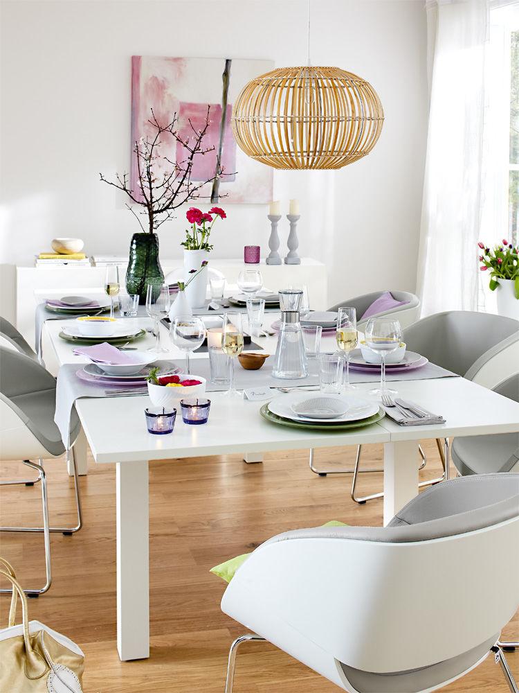 ein tisch f r jeden anlass zuhausewohnen. Black Bedroom Furniture Sets. Home Design Ideas