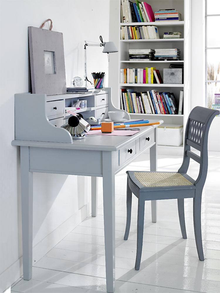 dezente schreibtische und zubeh r zuhausewohnen. Black Bedroom Furniture Sets. Home Design Ideas