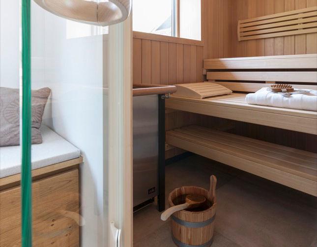 Perfekte heimsauna zuhausewohnen - Gartenhaus maritim einrichten ...