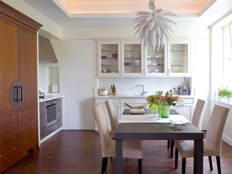 moderne wohnk chen zuhausewohnen. Black Bedroom Furniture Sets. Home Design Ideas
