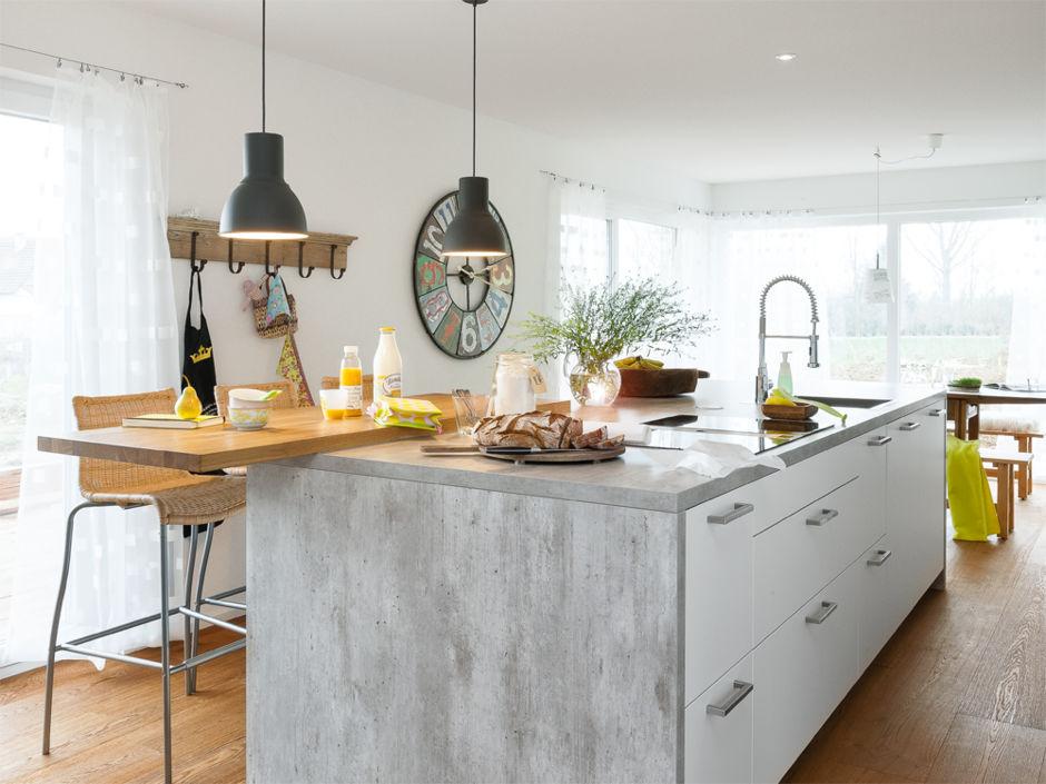 offen für genuss | zuhausewohnen - Holzdielen In Der Küche