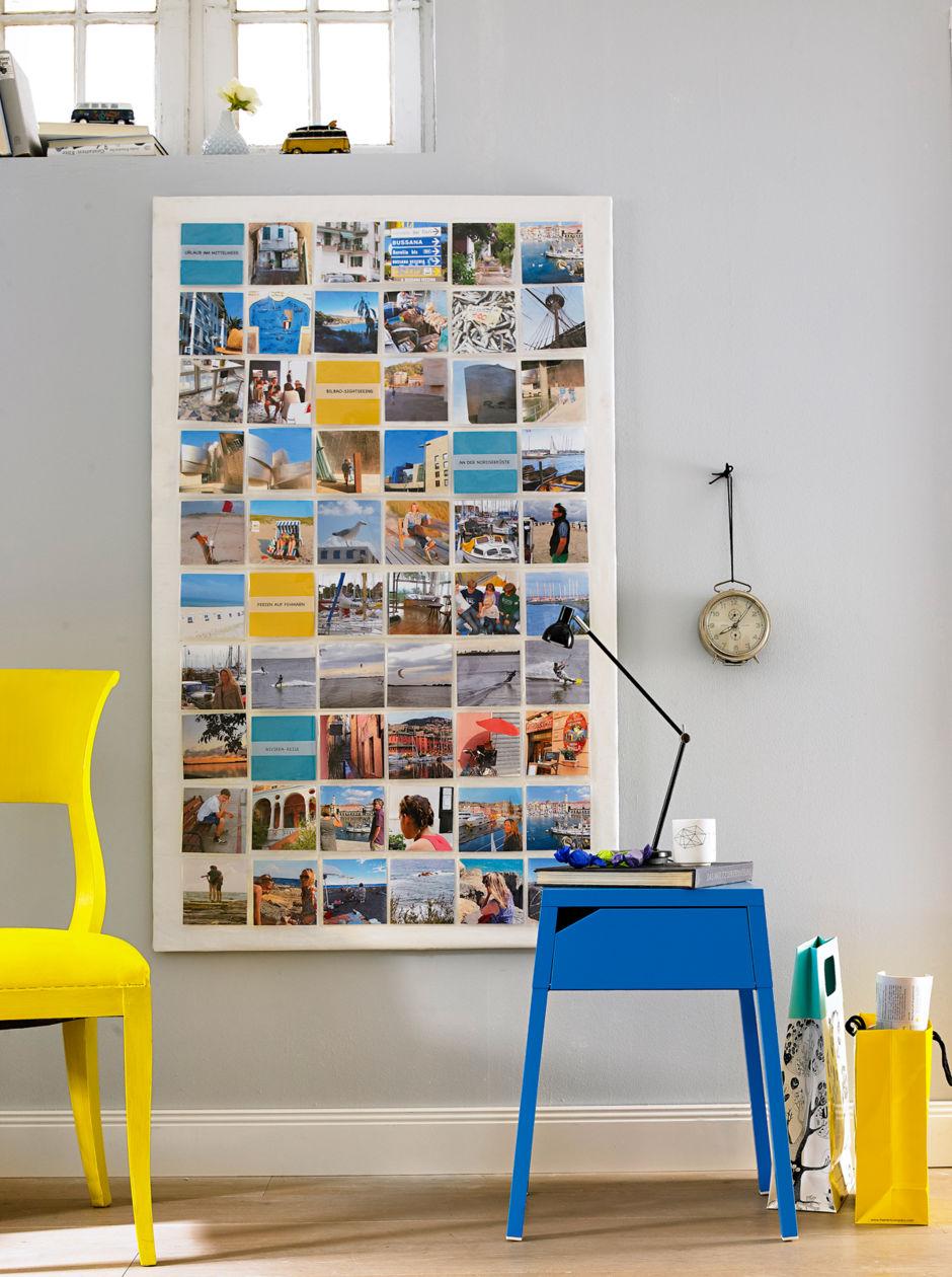 fotowand zuhausewohnen. Black Bedroom Furniture Sets. Home Design Ideas