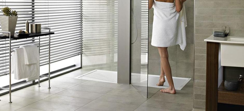 Dusche oder Badewanne