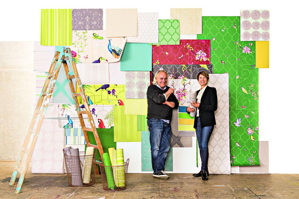 Marburger-Artdirector Dieter Langer und Chefredakteurin Bettina Wündrich