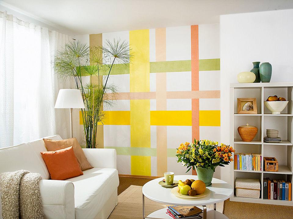 tapetenwechsel neue farben und materialien zuhause wohnen. Black Bedroom Furniture Sets. Home Design Ideas
