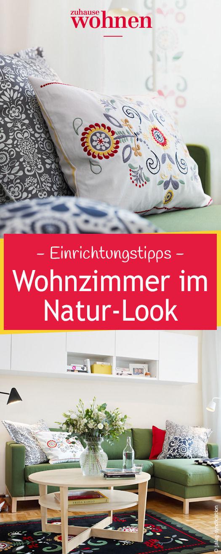 Wir Zeigen Euch, Wie Sich Das Wohnzimmer In Eine Natürliche Und Gemütliche  Oase Verwandeln Lässt. Wohnzimmer Ikea