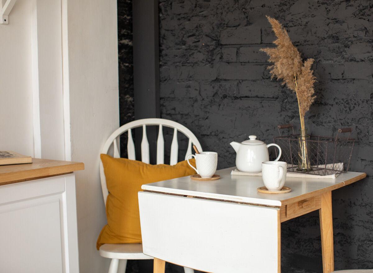 Platzsparende Esstische Essplätze für kleine Küchen   Zuhausewohnen