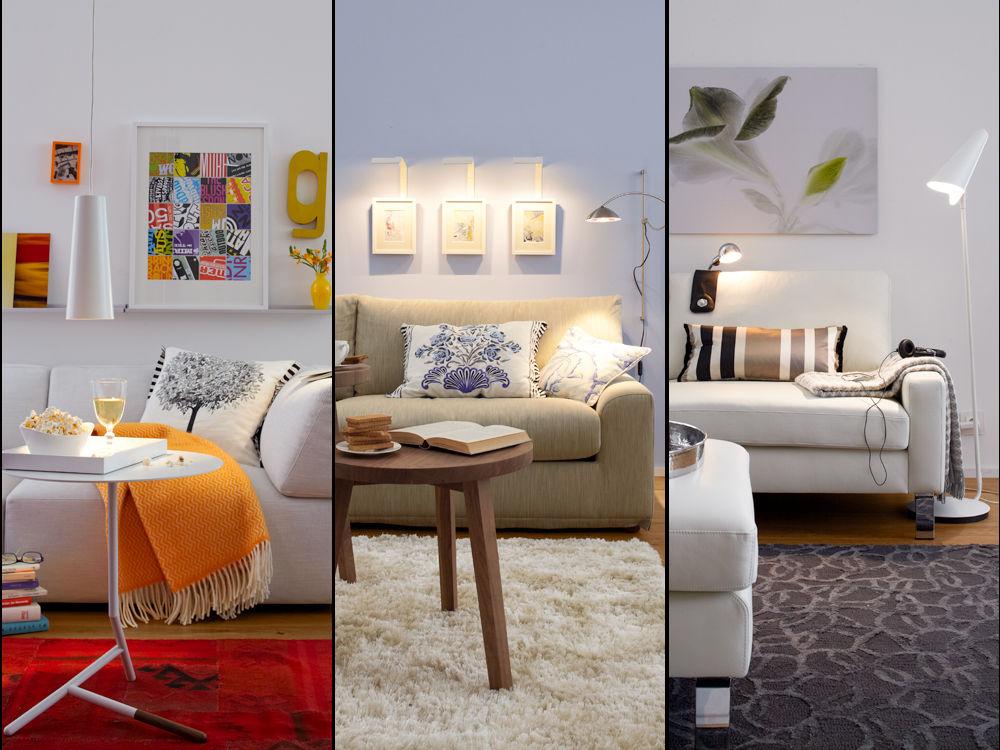 licht zum wohlf hlen zuhause wohnen. Black Bedroom Furniture Sets. Home Design Ideas