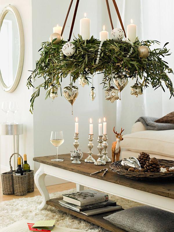 festliche adventsdeko zuhause wohnen. Black Bedroom Furniture Sets. Home Design Ideas