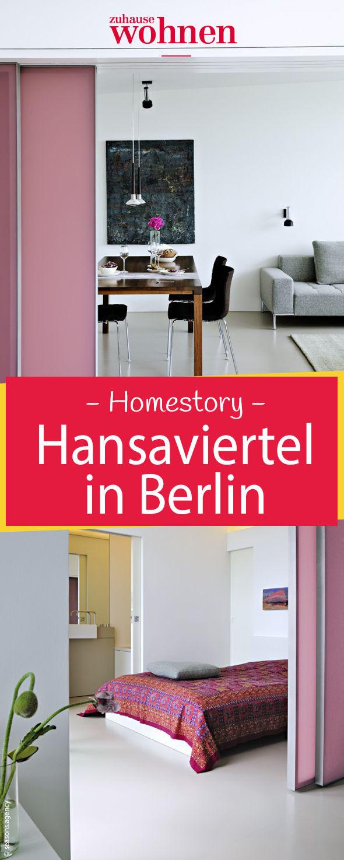 """Zur """"Interbau 1957"""" präsentierte Berlin das Wohnen von morgen. Jetzt  liegt das von großen Architekten erbaute Hansaviertel wieder im Trend.  Wir zeigen euch die modern eingerichteten Wohnungen in unserer Homestory!"""