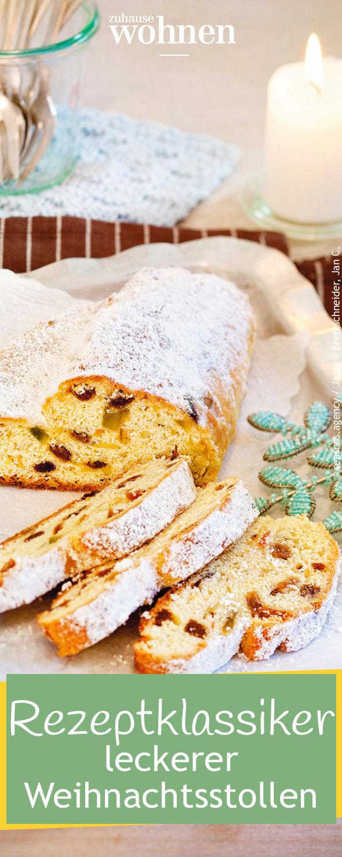 Stollen und Weihnachten gehören einfach zusammen. Wir zeigen euch ein Rezept für den klassischen Christstollen zum Nachbacken!