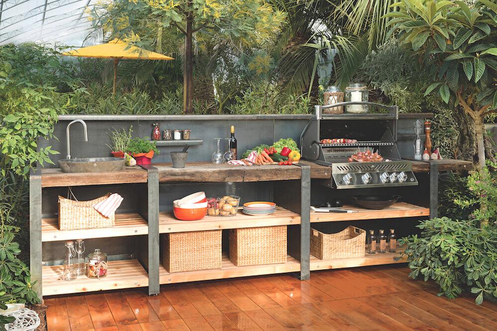 outdoorküchen für jeden geldbeutel | zuhause wohnen, Hause deko