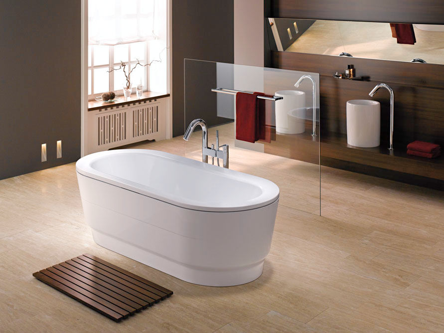 Edle bad klassiker zuhause wohnen for Einrichtungstipps bad
