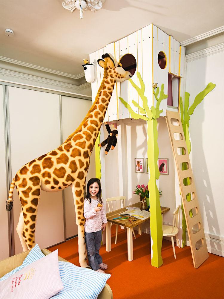 Kinderbett baumhaus  Kinderparadiese | Zuhause Wohnen