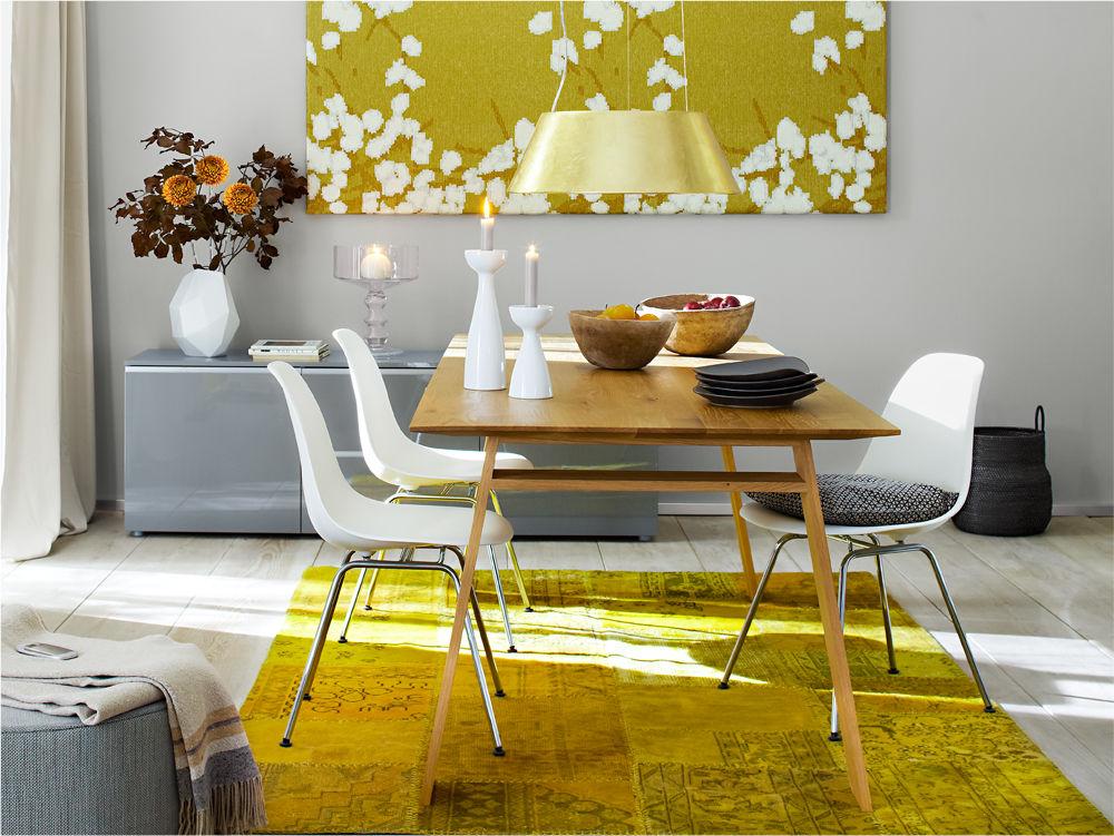 starke signalfarben zuhause wohnen. Black Bedroom Furniture Sets. Home Design Ideas
