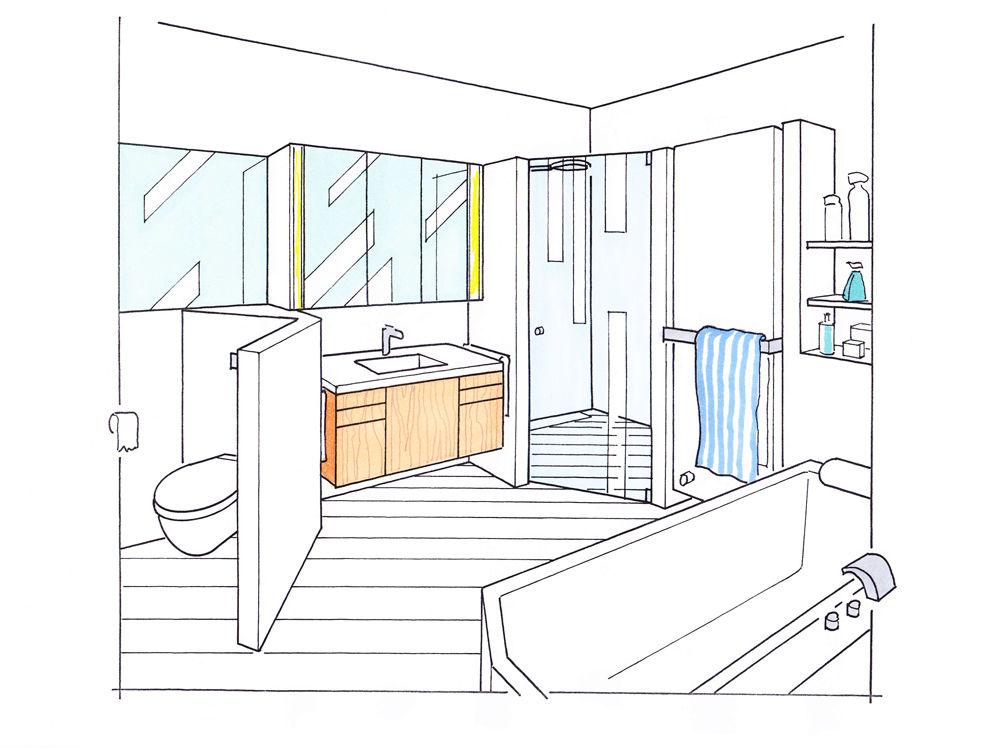 Badmodernisierung Mit System | Zuhause Wohnen Badezimmer Aufteilung