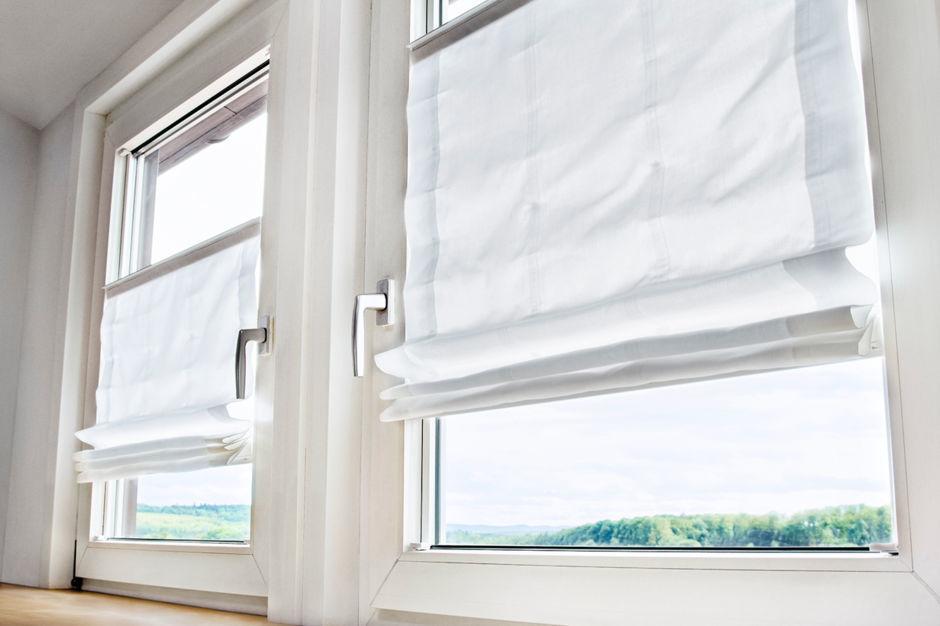 Sichtschutz für die Fenster