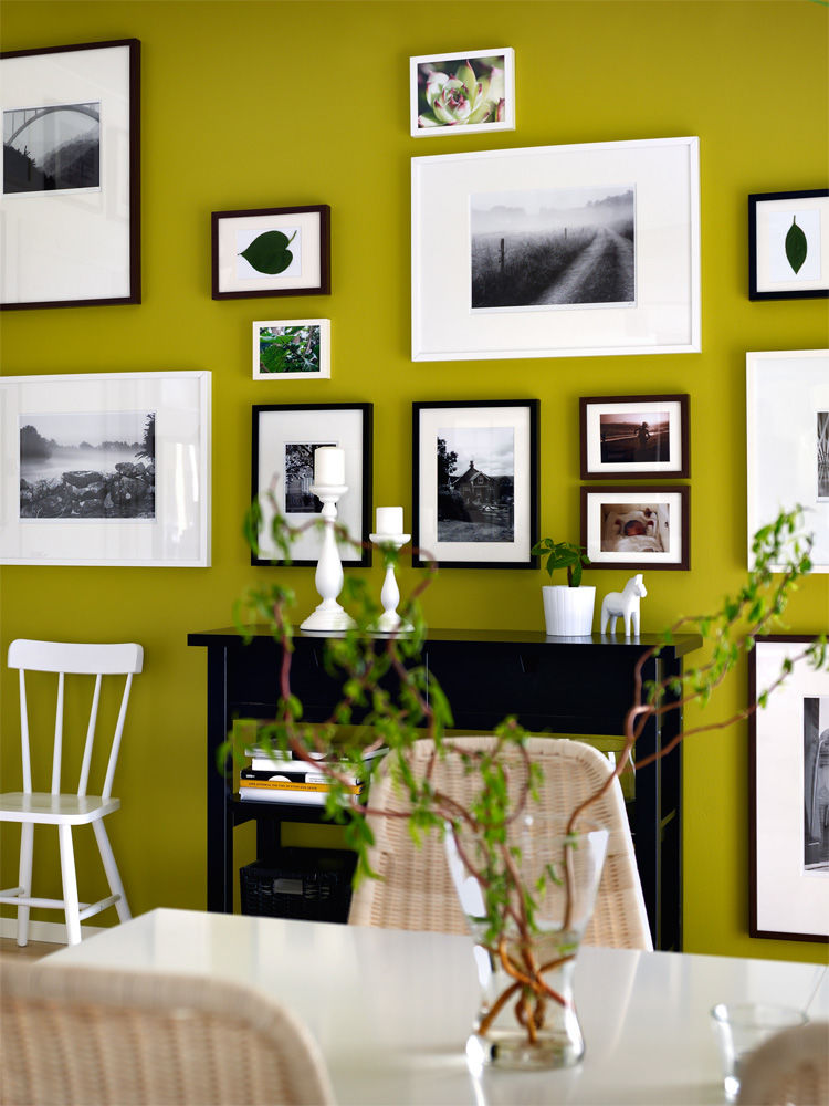 aktuelle wandfarben zuhause wohnen. Black Bedroom Furniture Sets. Home Design Ideas