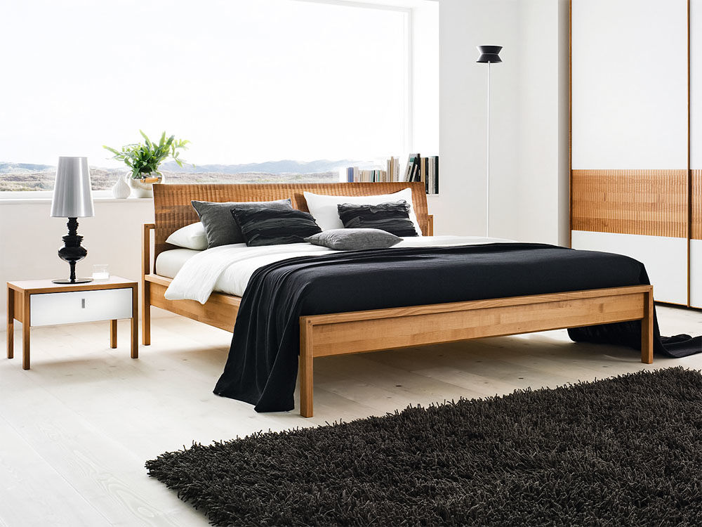 die sch nsten betten zuhause wohnen. Black Bedroom Furniture Sets. Home Design Ideas