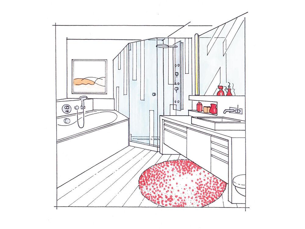 Das Minibad Zuhausewohnen