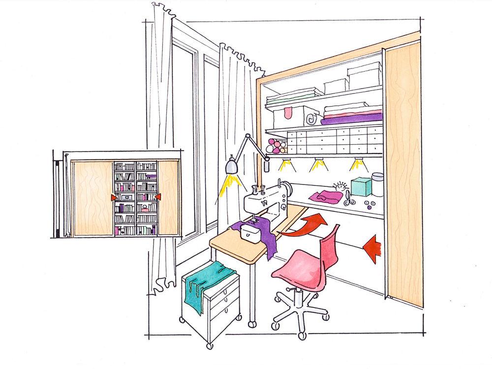 mehr platz f rs hobby zuhause wohnen. Black Bedroom Furniture Sets. Home Design Ideas