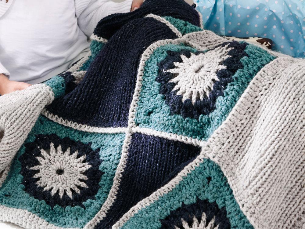 plaid in tweed optik zuhause wohnen. Black Bedroom Furniture Sets. Home Design Ideas