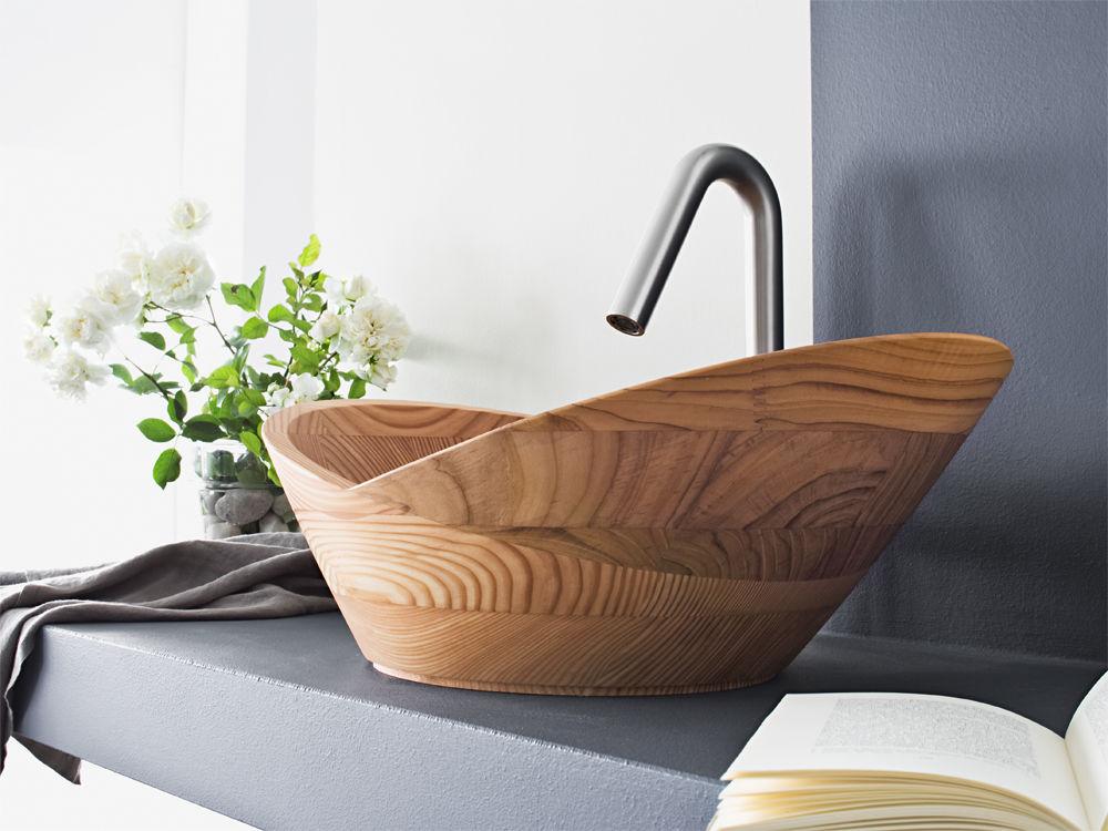 natur im bad zuhause wohnen. Black Bedroom Furniture Sets. Home Design Ideas