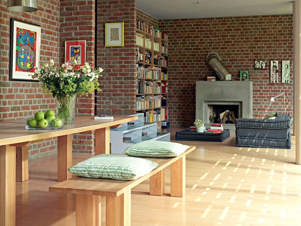 scheune wird zum land loft zuhause wohnen. Black Bedroom Furniture Sets. Home Design Ideas
