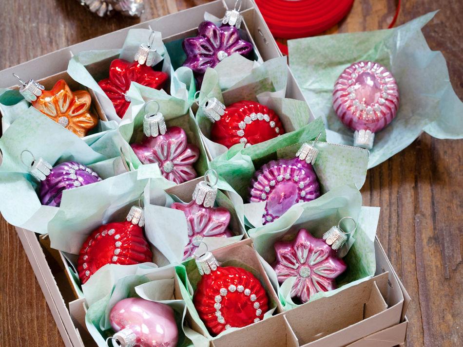 Weihnachtskugeln zuhause wohnen - Box weihnachtskugeln ikea ...