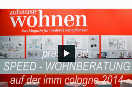 Speed-Wohnberatung imm Video