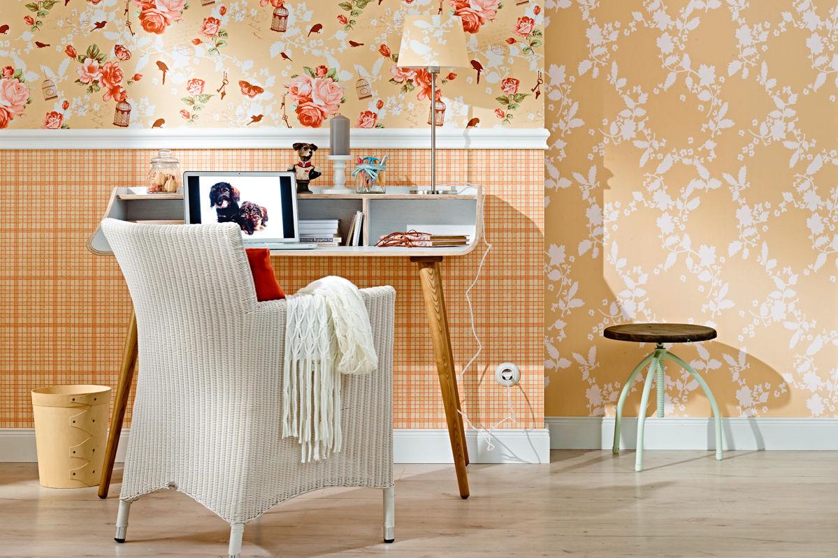 tapetenkollektion zuhause wohnen 2014 zuhause wohnen. Black Bedroom Furniture Sets. Home Design Ideas