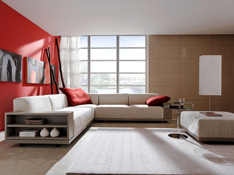 Sofas mit integrierten regalen zuhause wohnen - Moderne bder mit dachschrge ...