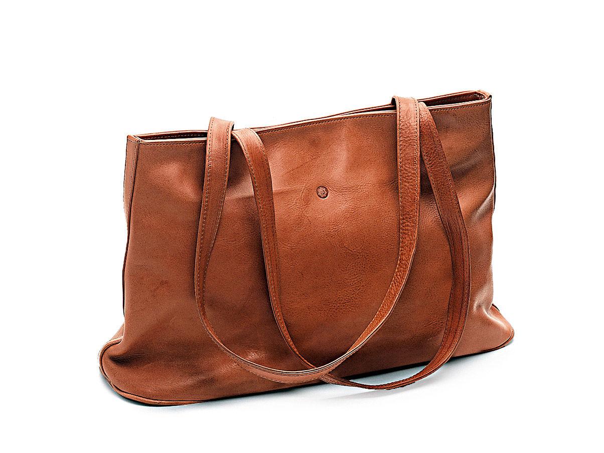 Rindsleder-Tasche