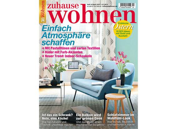 Cover Zuhause wohnen 04/2017