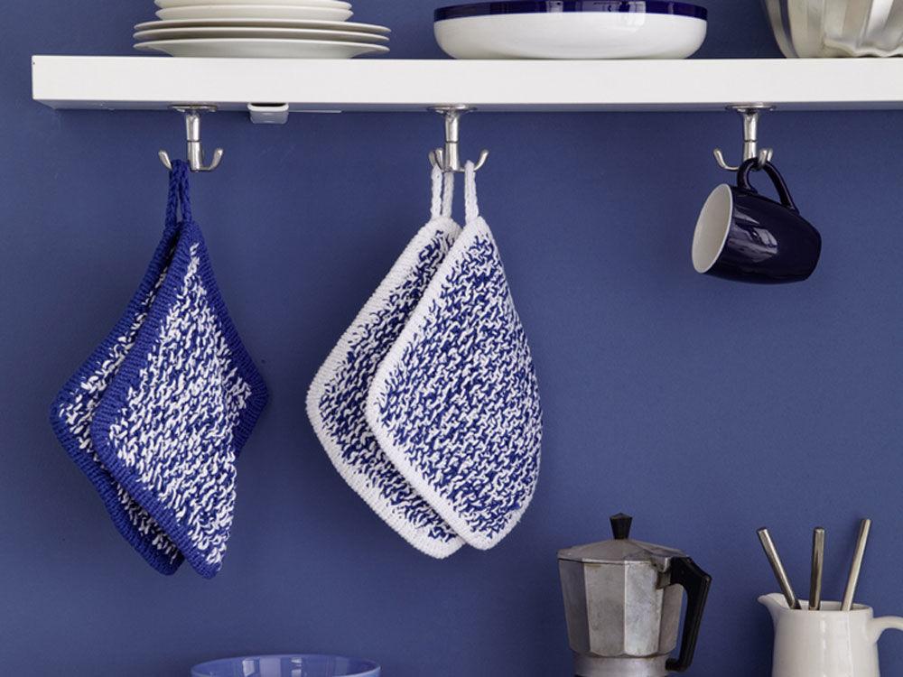 10 kreative ideen zum stricken h keln und n hen zuhause wohnen. Black Bedroom Furniture Sets. Home Design Ideas