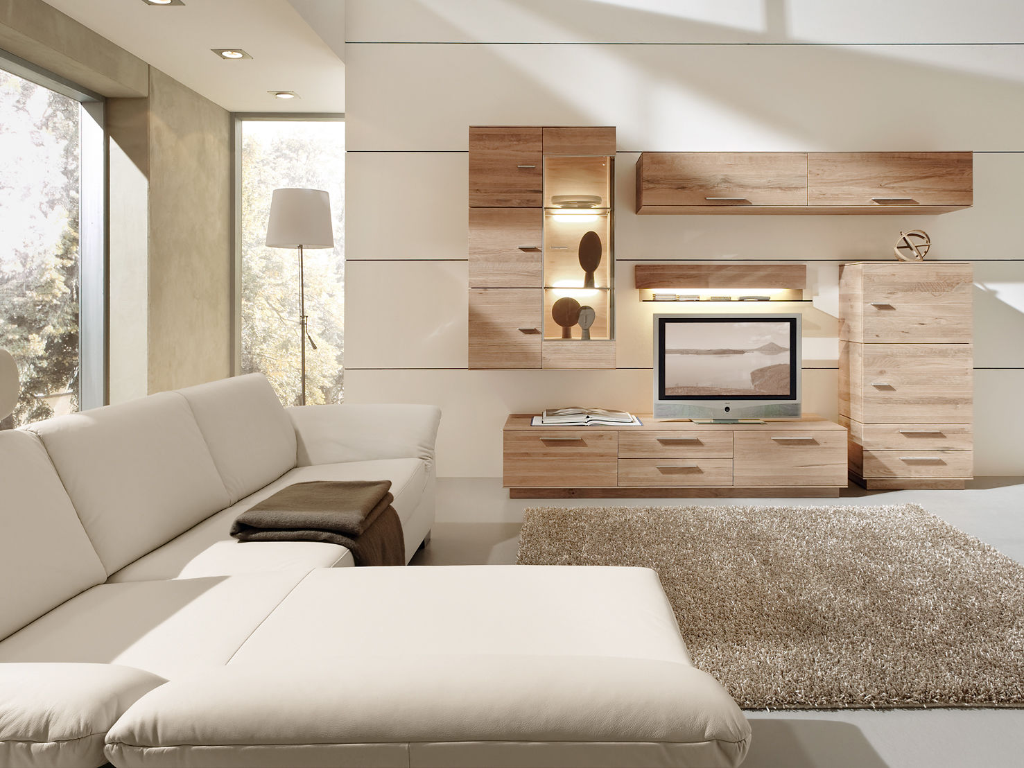 helles holz im trend zuhause wohnen. Black Bedroom Furniture Sets. Home Design Ideas