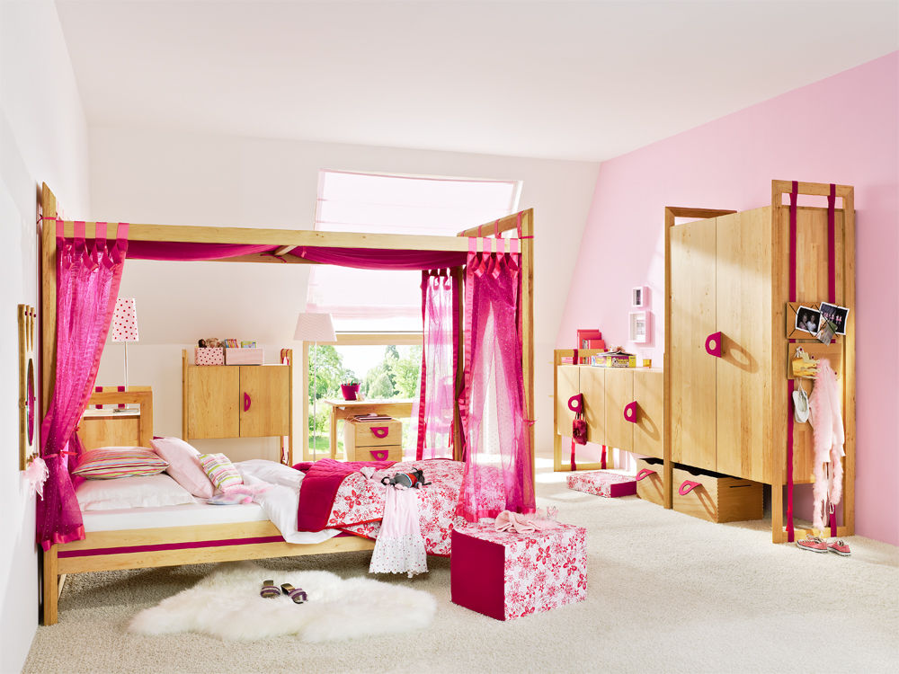 fantasievolle kinderzimmer zuhause wohnen. Black Bedroom Furniture Sets. Home Design Ideas