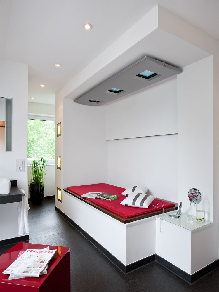 wellness oase unterm dach zuhause wohnen. Black Bedroom Furniture Sets. Home Design Ideas