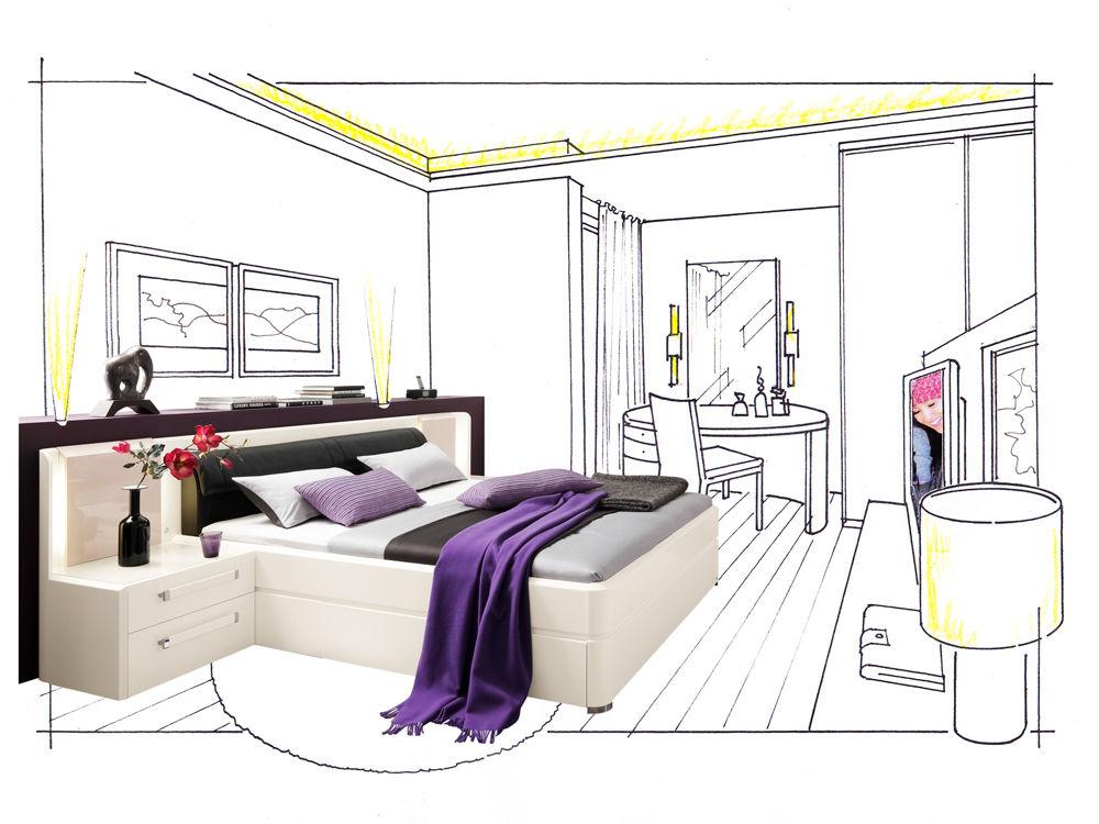 mehr pepp im schlafzimmer zuhause wohnen. Black Bedroom Furniture Sets. Home Design Ideas