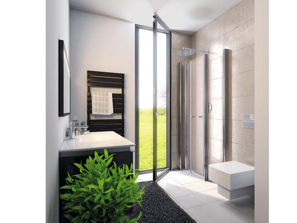 mini duschkabine raum und m beldesign inspiration. Black Bedroom Furniture Sets. Home Design Ideas