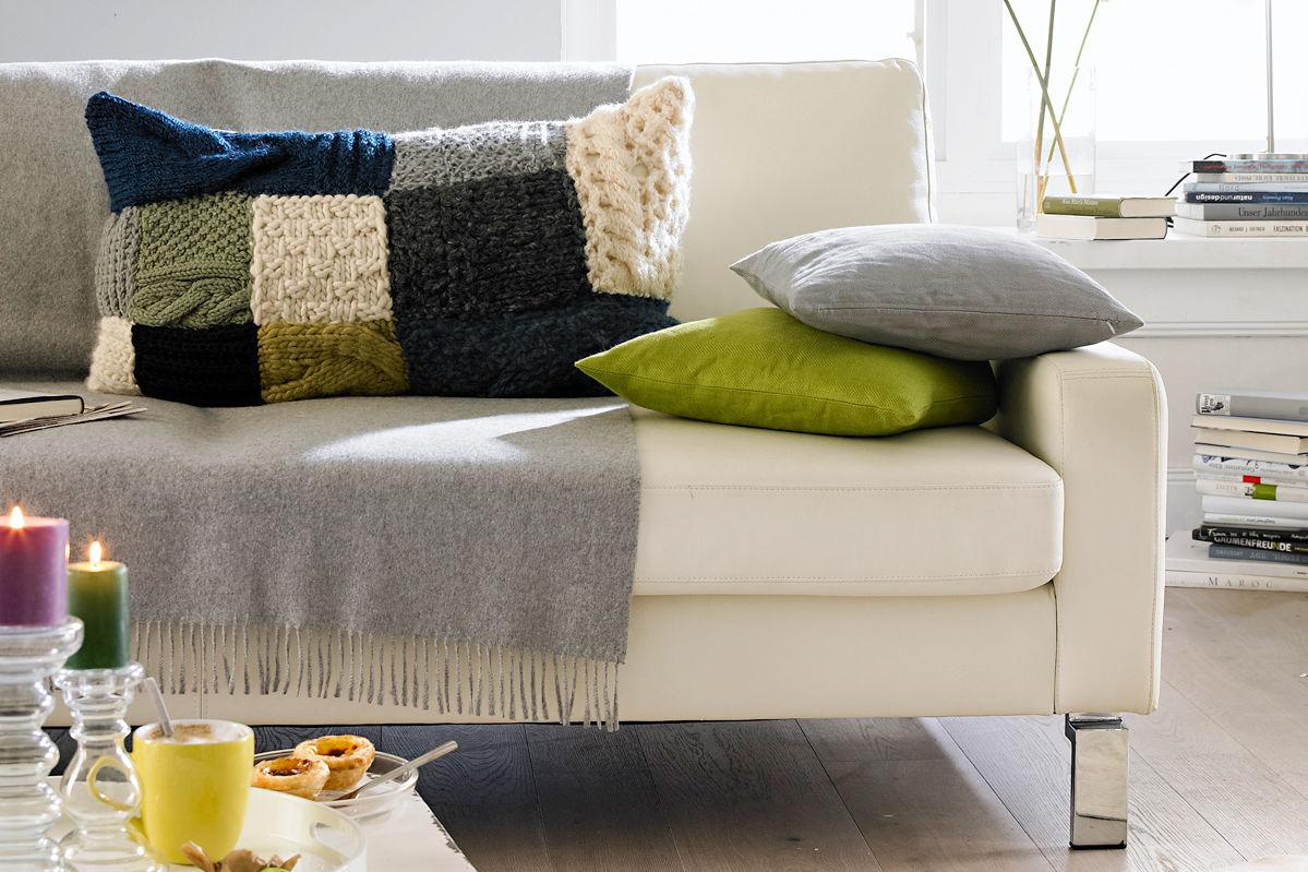patchworkkissen zuhause wohnen. Black Bedroom Furniture Sets. Home Design Ideas