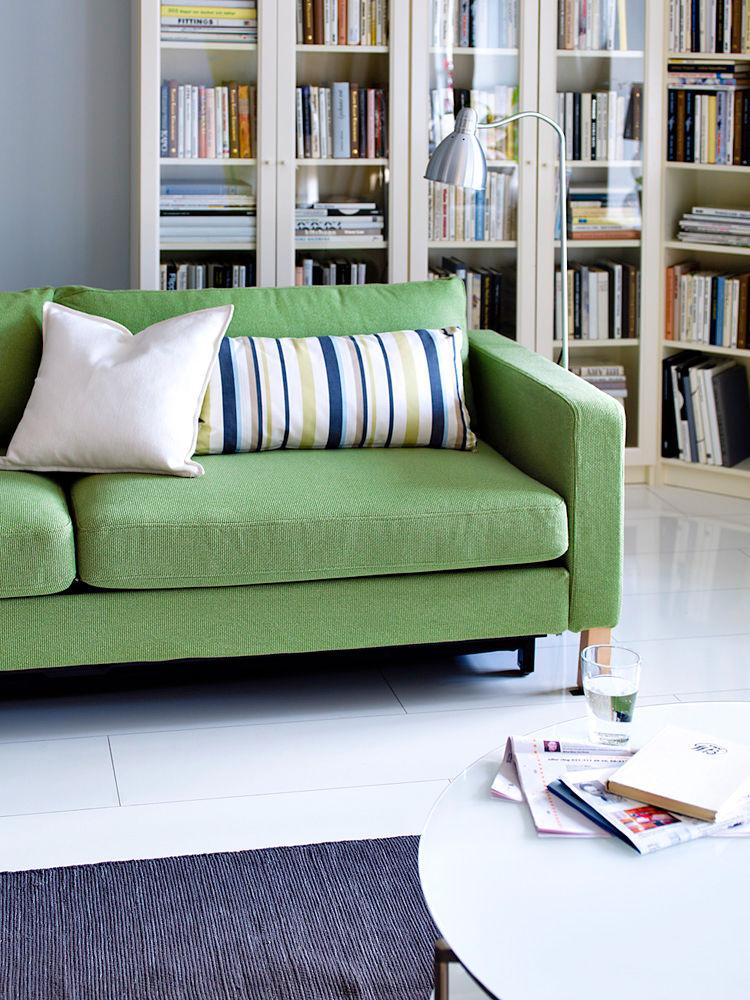 regalsysteme f r ihre b cher zuhause wohnen. Black Bedroom Furniture Sets. Home Design Ideas