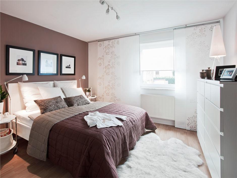 Schlafzimmer von Ikea professionell gestaltet