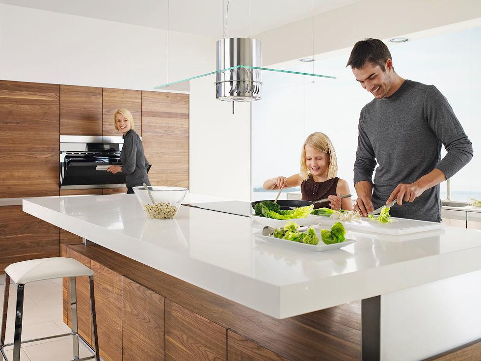 Holzküchen mit Wohnflair | Zuhause Wohnen | {Moderne holzküchen 26}