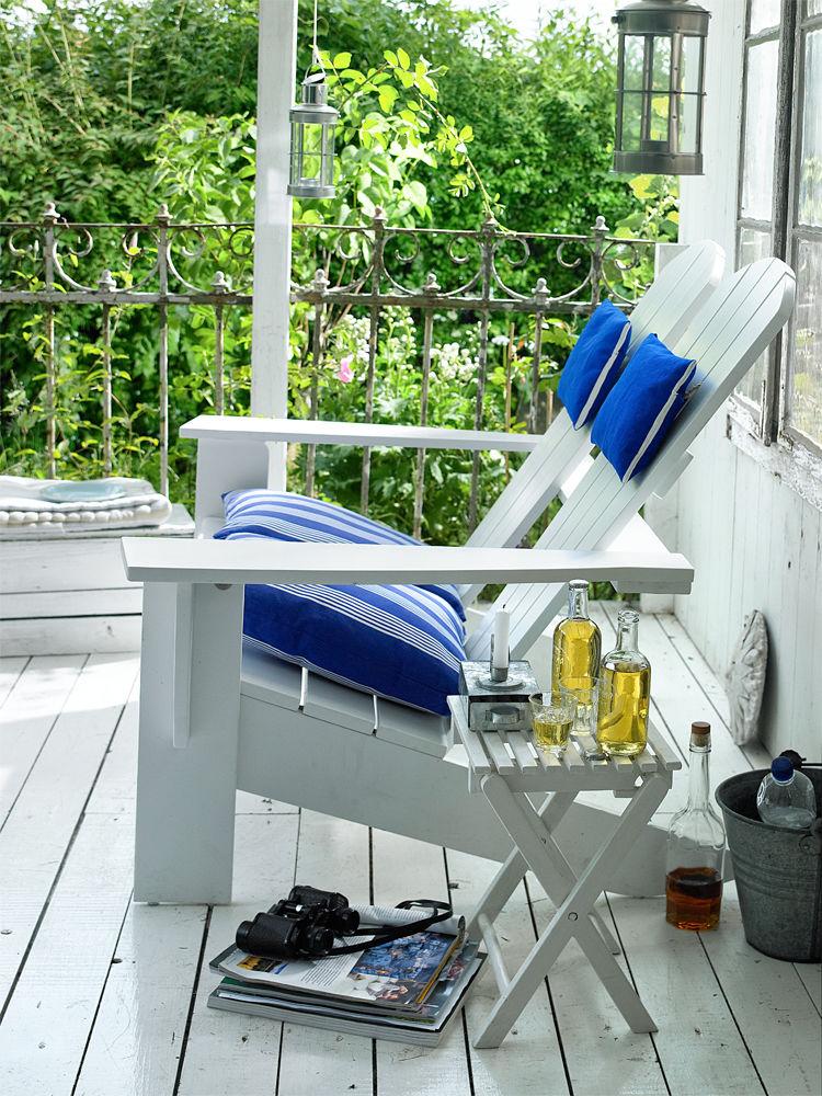 maritime outdoor m bel zuhause wohnen. Black Bedroom Furniture Sets. Home Design Ideas