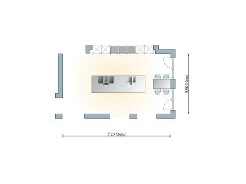 puristische k che in perfektion zuhause wohnen. Black Bedroom Furniture Sets. Home Design Ideas