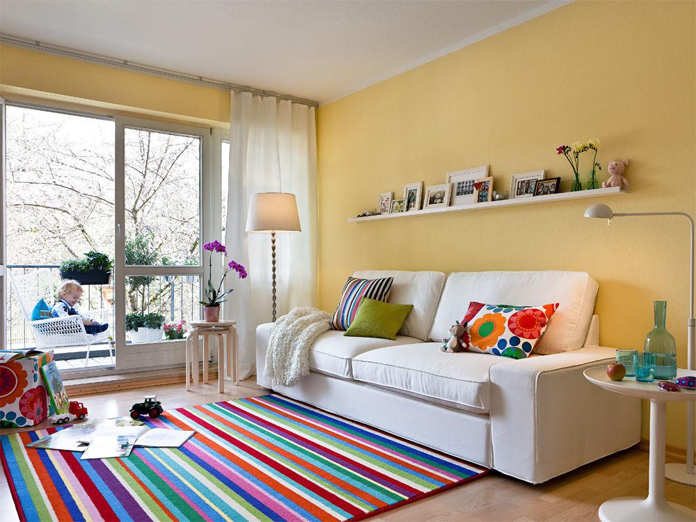 wohnzimmer von ikea zuhause wohnen. Black Bedroom Furniture Sets. Home Design Ideas