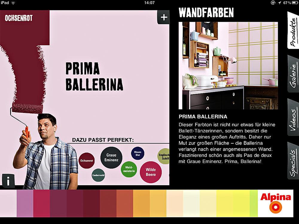 App-Farbrezepte