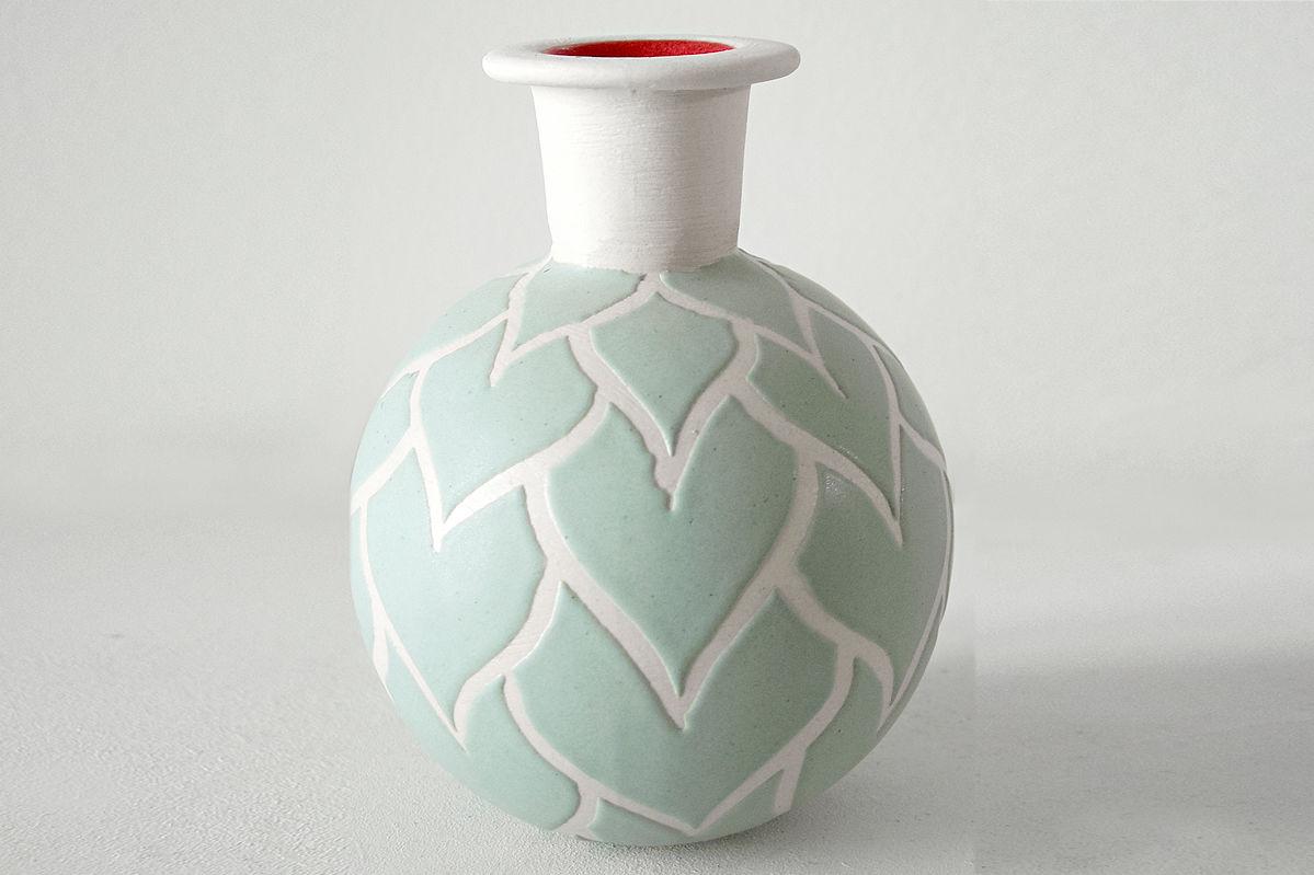 Kugelvase C. Ruff Ceramic