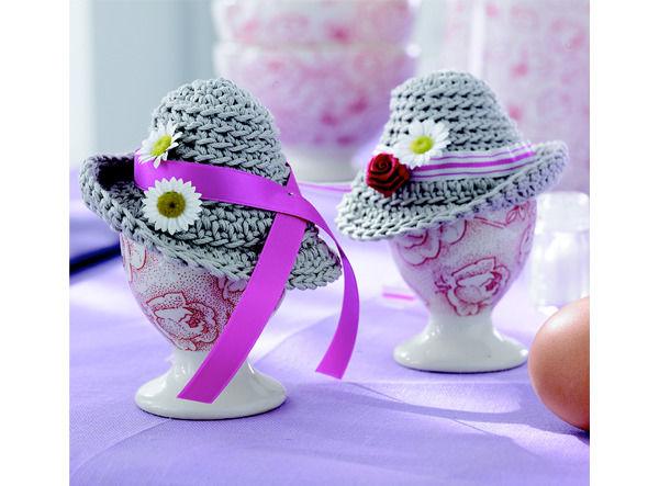 Eierwärmer in Hutform selber stricken